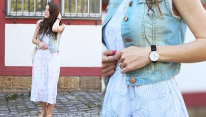 Outfit With Midi Dresses In The Summer